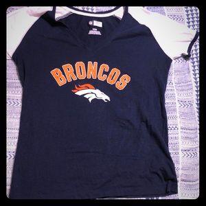Denver Bronco v-neck